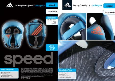 adidas Speed Hoofdbeschermer