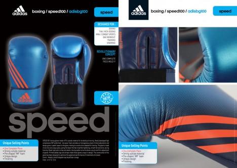 adidas Speed 100 (Kick)Bokshandschoenen