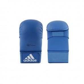 adidas WKF Karatehandschoen Zonder Duim Blauw