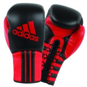 adidas Safety Sparring Bokshandschoenen Veter Zwart/Rood