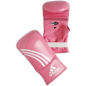 Adidas Boxfit zakhandschoenen roze/wit