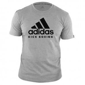 adidas T-Shirt Kickboxing Community Grijs/Zwart ADICTKB-80900