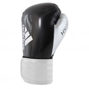 adidas Hybrid 75 (Kick)Bokshandschoenen Zwart/Wit/Zilver ADIH75-90109
