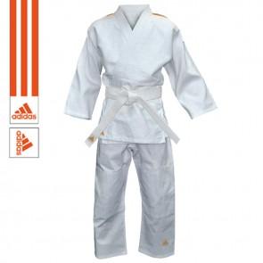Adidas Judopak Evolution II J250 Wit/Oranje
