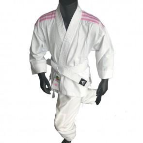 adidas Karatepak K200 Kids Wit/Roze