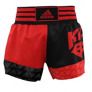 adidas Kickboksshort SKB02 Shock Red/Zwart (Kleding)