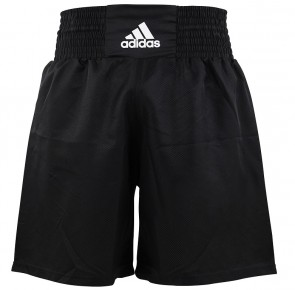 adidas Multi Boxing Short Zwart/Wit