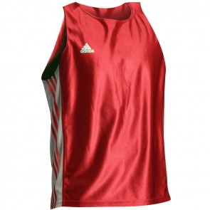 adidas Amateur Boxing Tank rood/wit