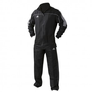 adidas Team Track Trainingspak Zwart/Wit