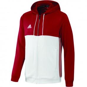 adidas T16 Team Hoodie Rood/Wit