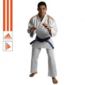 Adidas Judopak J350 Club Wit/Oranje