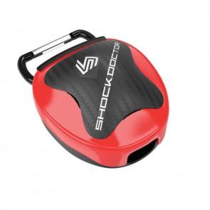 Shock Doctor Gebitsbeschermer Opbergsysteem Rood SD106C-40000
