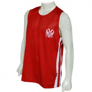 TUF Wear Club Singlet rood/wit