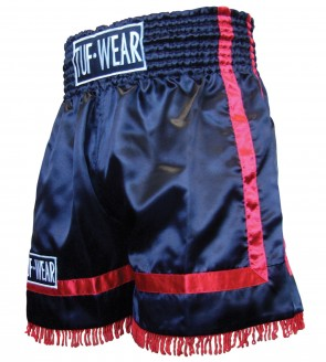 TUF Wear Fight Short Red Stripe