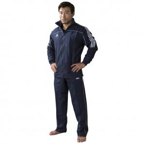 adidas Team Track Trainingspak Blauw/Wit