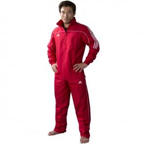 adidas Team Track Trainingspak Rood/Wit