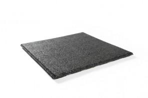 Rubbertegel 50x50cm zwart