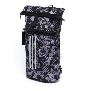 adidas Sporttas Military Combat Zwart Camo/Zilver Medium