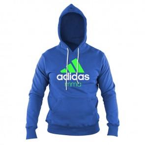 adidas Community Hoodie Blauw/Groen MMA
