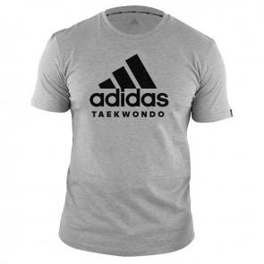 ADICTTKD-80900 adidas T-Shirt TaekWondo Community Grijs/Zwart