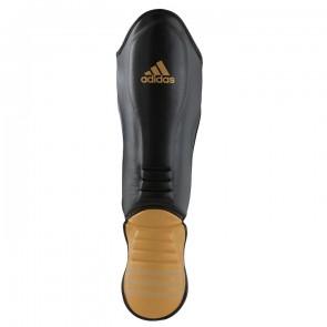 adidas Hybrid Super Pro Scheenbeschermer Zwart/Goud ADIGSS011-90350