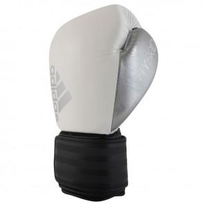 adidas Hybrid 200 (Kick)Bokshandschoenen Wit/Zwart/Zilver ADIH200-10909