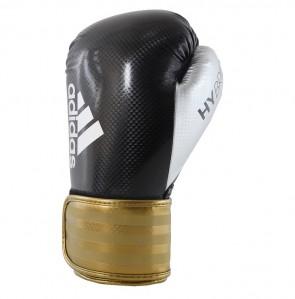 adidas Hybrid 75 (Kick)Bokshandschoenen Zwart/Goud ADIH75-90350