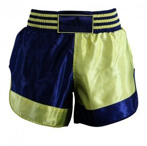adidas Thai- en Kickboksshort Geel/Blauw