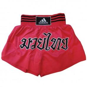 adidas Kickboksshort STH02 Shock Red/Zwart (Kleding)