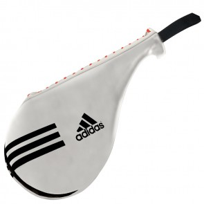 adidas Double Target Mitt Wit Large