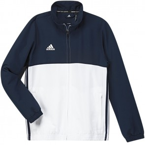 adidas T16 Team jack Youth Blauw/Wit
