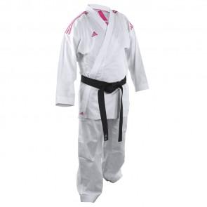 adidas Karatepak K220KF Kumite Fighter Wit/Roze