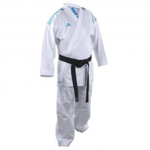 adidas Karatepak K220KF Kumite Fighter Wit/Blauw