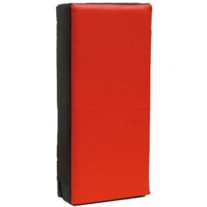 Stootkussen groot Luxury 75 x 35 x 15 cm zwart/rood