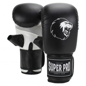 Super Pro Combat Gear Victor Bag Gloves Black/White