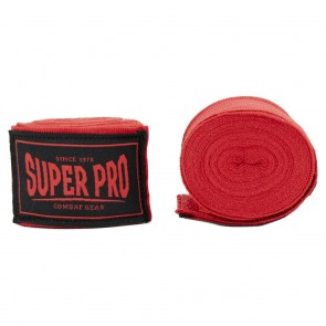 Super Pro Combat Gear hand wraps Red