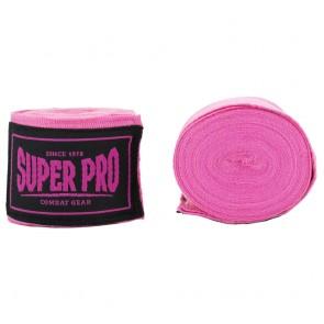 Super Pro Combat Gear hand wraps Pink
