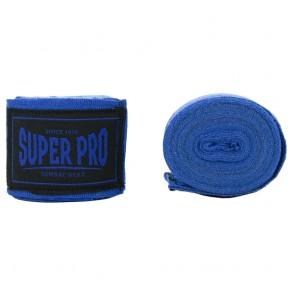 Super Pro Combat Gear hand wraps Blue