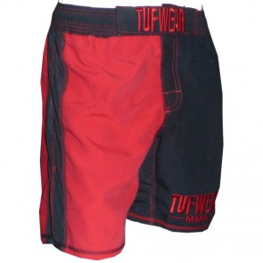 TUF Wear MMA Short Zwart/ro