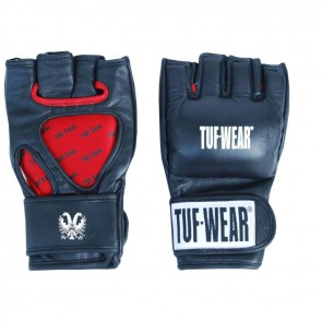 TUF Wear MMA Pro Contest Grappling Handschoenen 4 oz leder