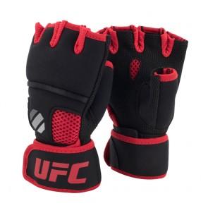 UFC Contender Quick Wrap Binnenhandschoenen Met Gel-Padding Zwart/Rood