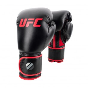 UFC Contender Muay Thai Style (kick)bokshandschoenen Zwart/Rood