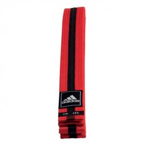 adidas Taekwondo Poomsae Band Rood/Zwart
