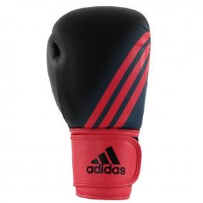 adidas Speed 100 (Kick)Bokshandschoenen Zwart/Shock Red Women's Edition